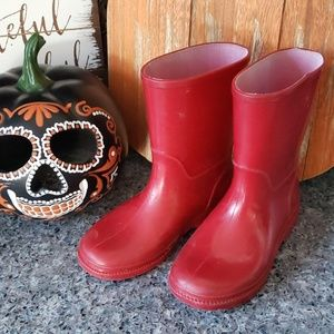 Other - Red Rainboots